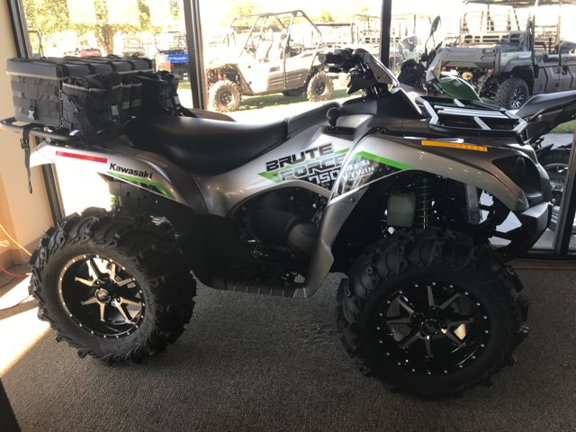 2019 Kawasaki Brute Force 750 4x4i EPS 750 4x4i EPS at Dale's Fun Center, Victoria, TX 77904