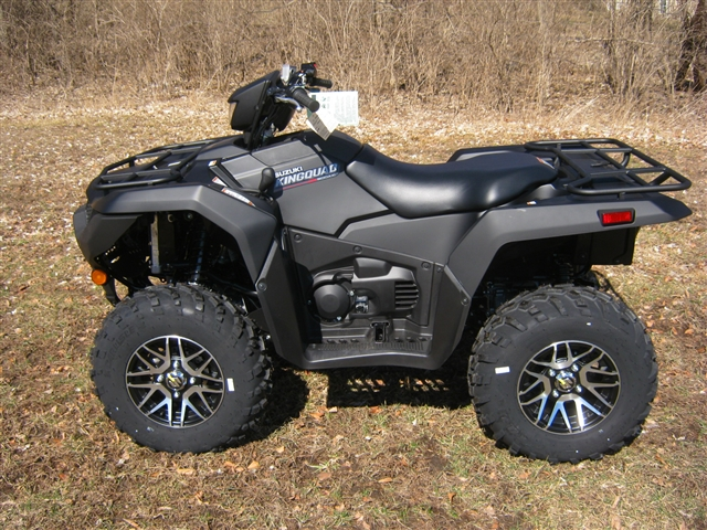 2019 Suzuki KingQuad 500 Snow Plow AXi Power Steering SE+ at Brenny's Motorcycle Clinic, Bettendorf, IA 52722