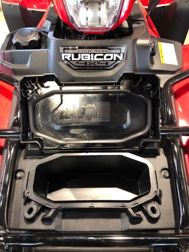 2020 Honda RUBICON 520 4X4 4x4 Automatic DCT at Genthe Honda Powersports, Southgate, MI 48195