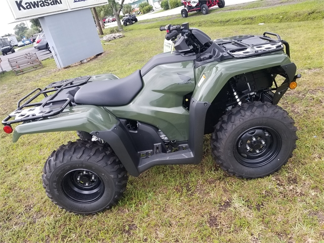 2021 Honda FourTrax Rancher Base at Powersports St. Augustine