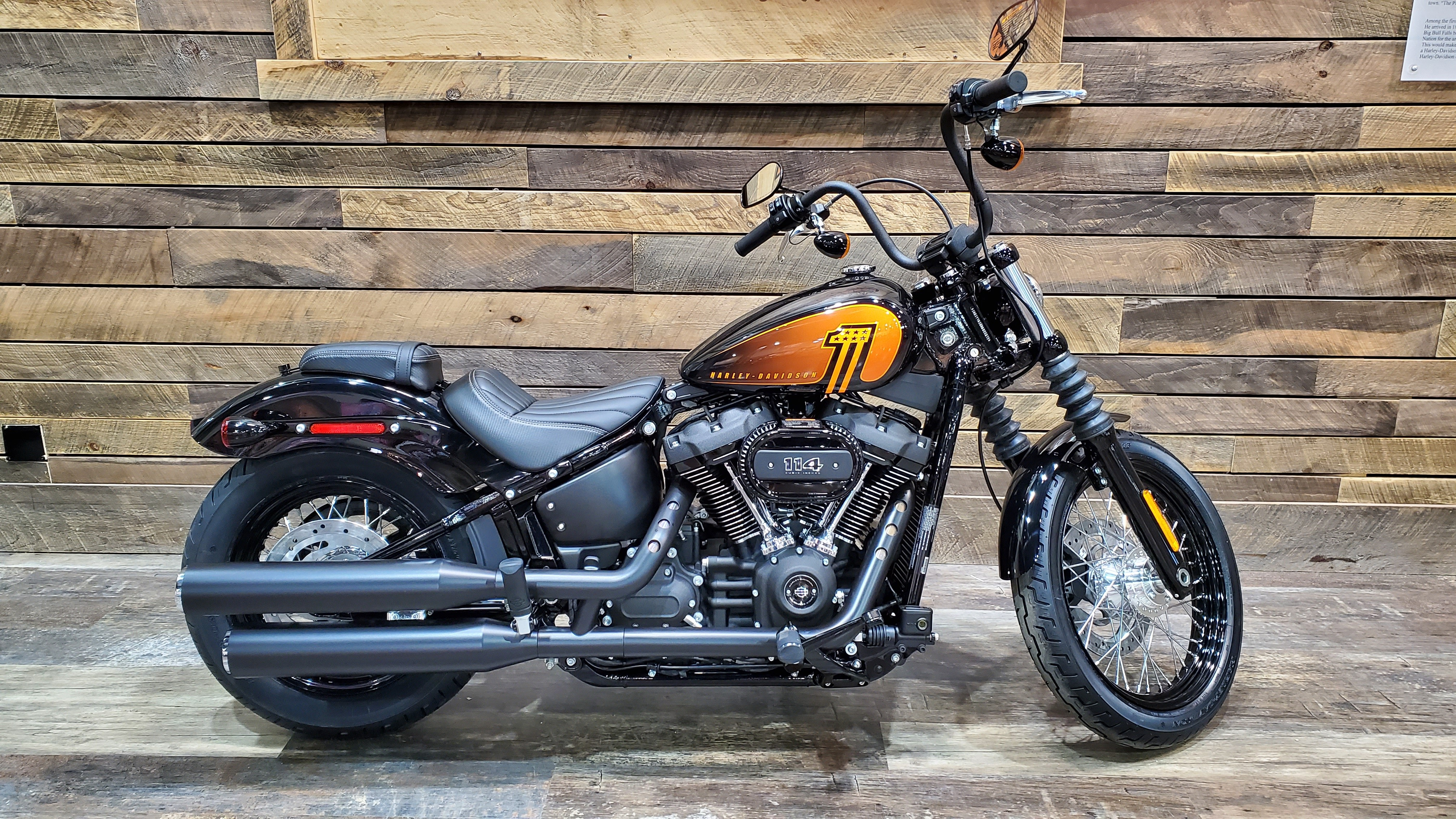 2021 Harley-Davidson Cruiser FXBBS Street Bob 114 at Bull Falls Harley-Davidson
