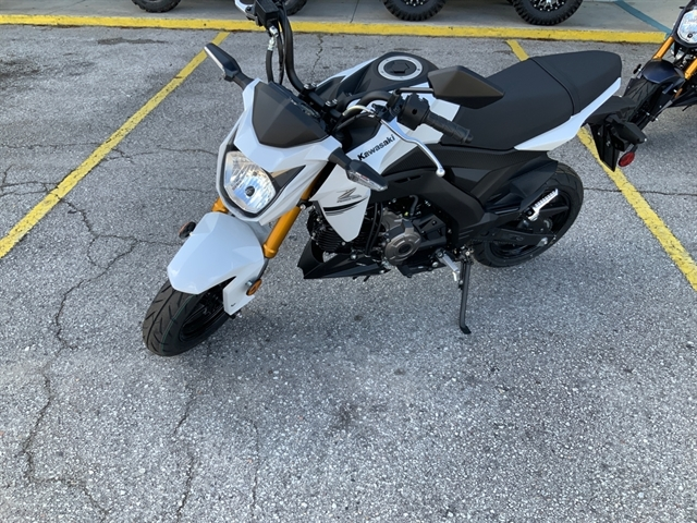2020 Kawasaki Z125 PRO Base at Jacksonville Powersports, Jacksonville, FL 32225