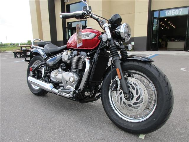 2018 Triumph Bonneville Speedmaster Cranberry Red at Stu's Motorcycles, Fort Myers, FL 33912