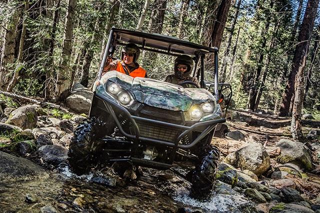 2017 Kawasaki Teryx Camo at Youngblood Powersports RV Sales and Service