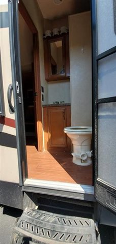 2014 Forest River Sandpiper 365SAQB at Youngblood Powersports RV Sales and Service