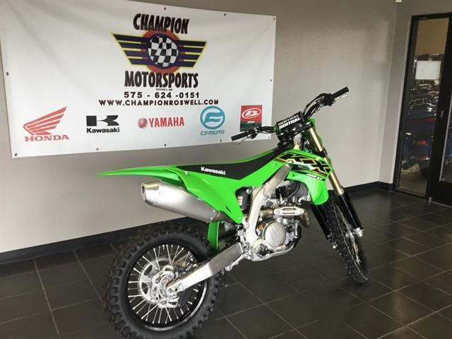 2021 KAWASAKI KX450KMFNN 450X at Champion Motorsports