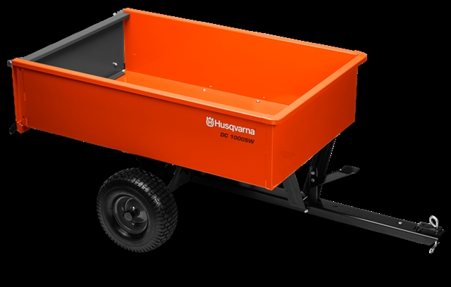 2018 Husqvarna 12' Steel Welded Dump Cart Tow Behind at Harsh Outdoors, Eaton, CO 80615