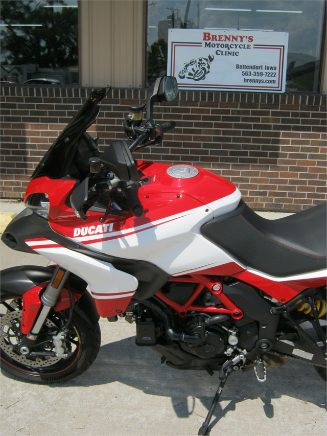 2013 Ducati Multistrada Pikes Peak Edition at Brenny's Motorcycle Clinic, Bettendorf, IA 52722
