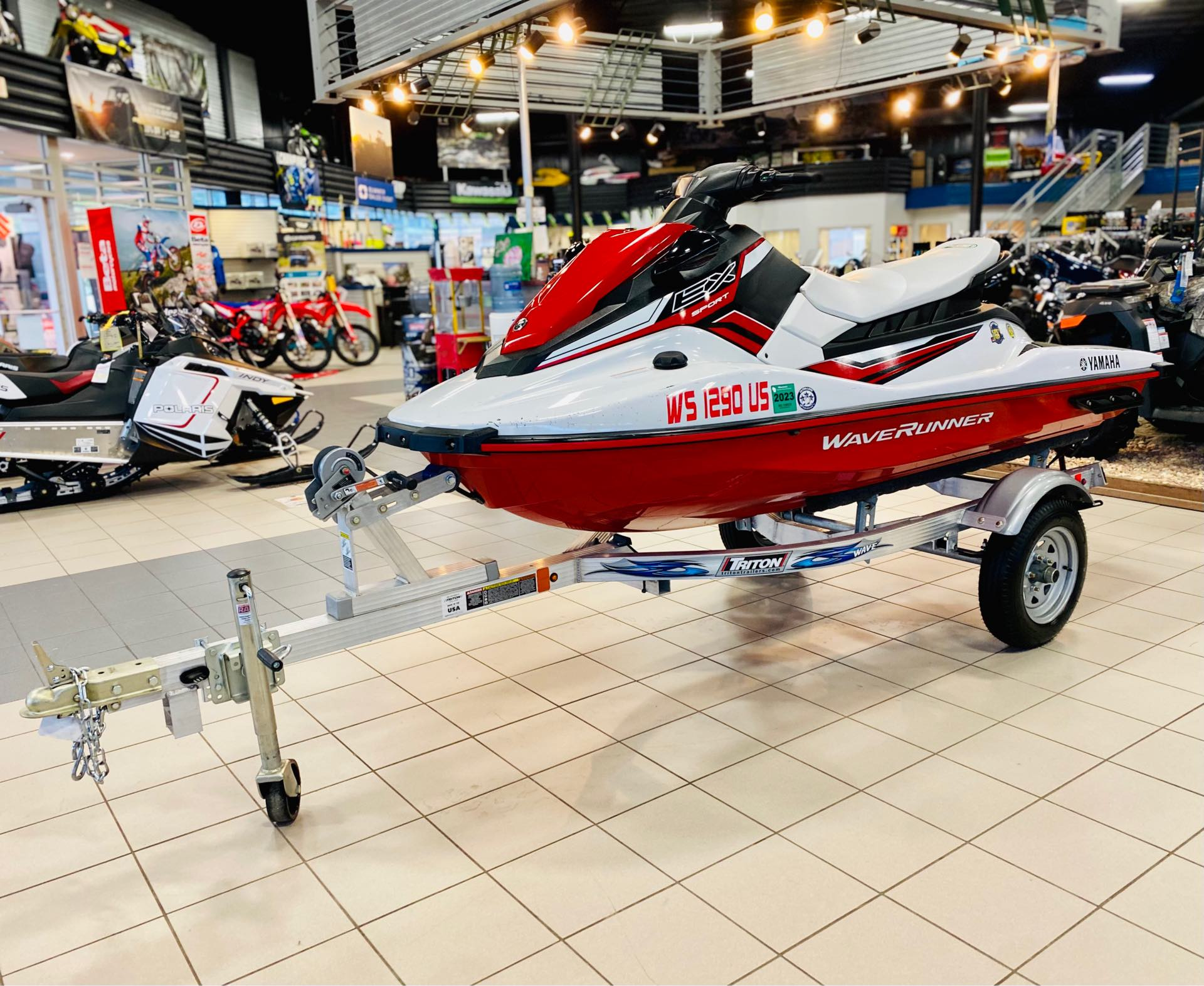 2020 Yamaha WaveRunner EX Sport at Rod's Ride On Powersports