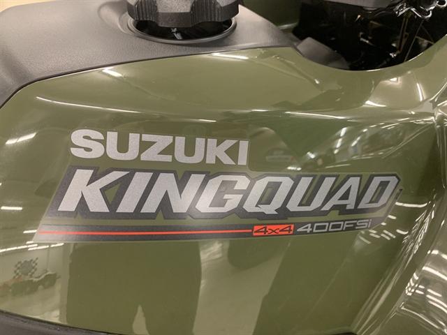 2020 Suzuki KingQuad 400 FSi at Columbia Powersports Supercenter