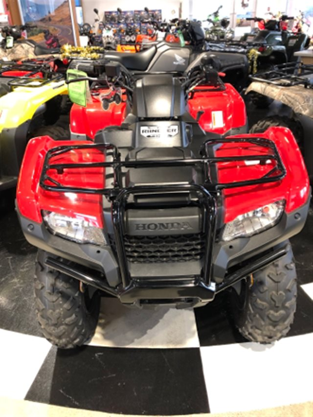 2020 Honda Rancher 420 4X4 MANUAL 4X4 at Genthe Honda Powersports, Southgate, MI 48195