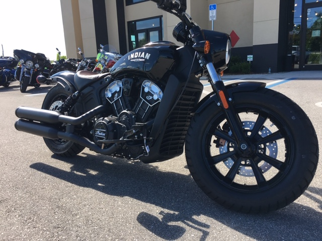 2019 Indian Scout Bobber at Fort Lauderdale