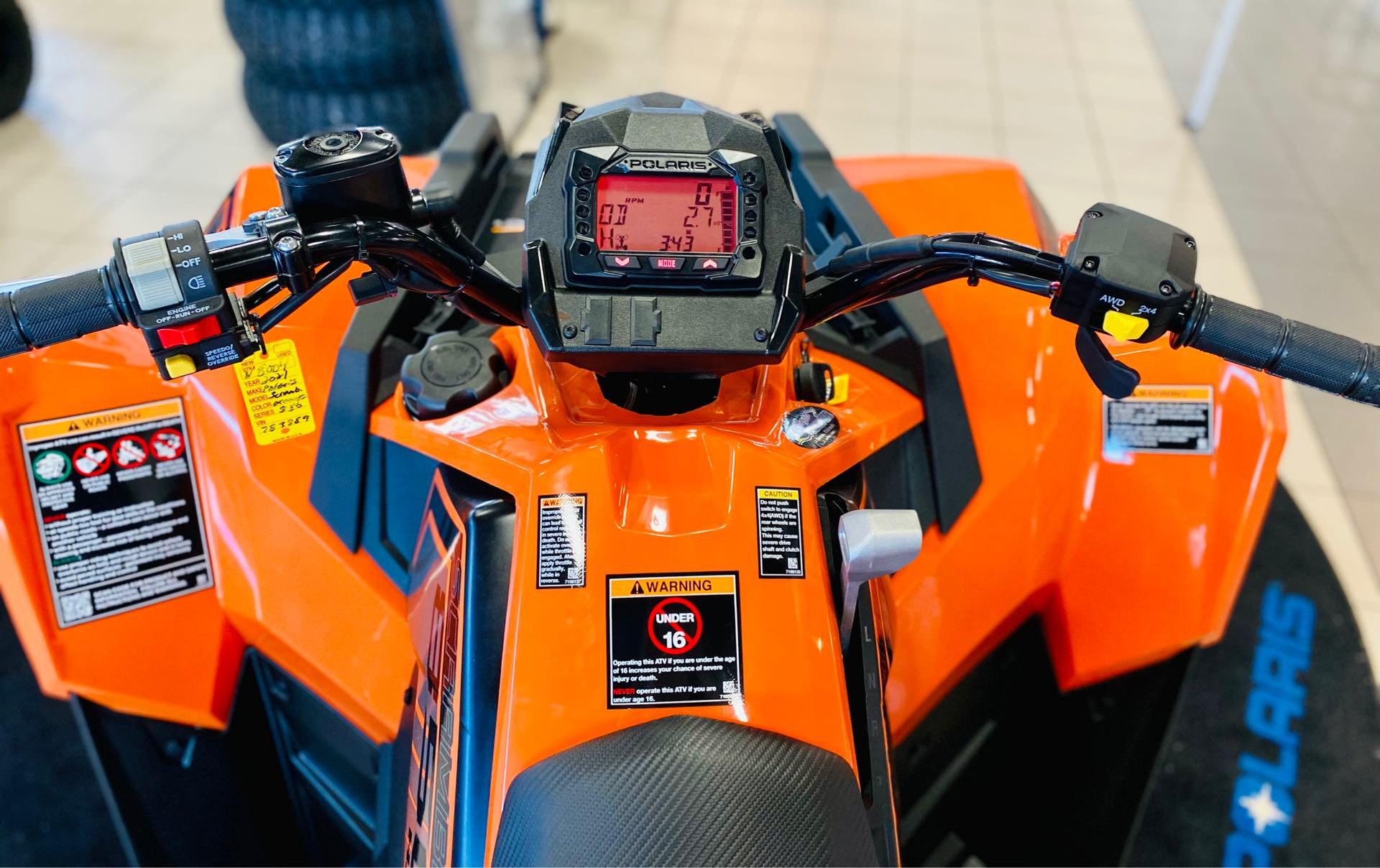 2021 Polaris Scrambler 850 at Rod's Ride On Powersports