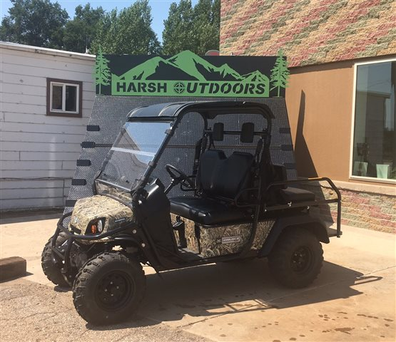 2017 Textron Off Road Ambush iS Hybrid 4-Passenger Gas/Electric, Camo at Harsh Outdoors, Eaton, CO 80615