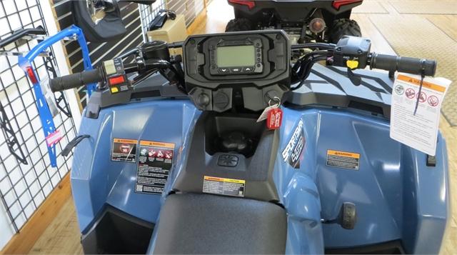 2021 Polaris 450 HO EPS Sportsman - Zenith Blue at Fort Fremont Marine