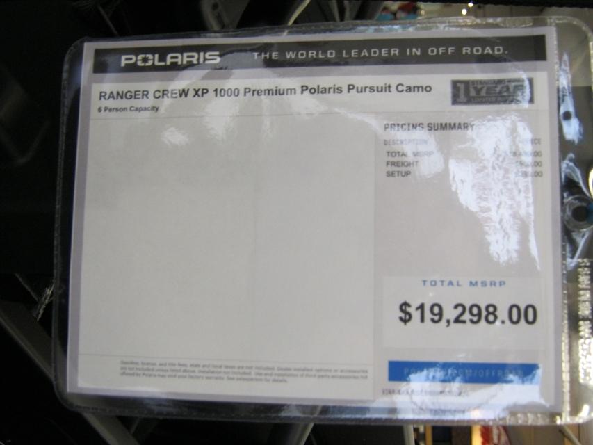 2021 Polaris Ranger Crew XP 1000 Premium at Brenny's Motorcycle Clinic, Bettendorf, IA 52722