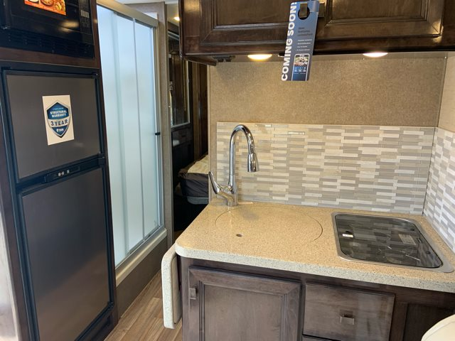 2019 Thor Motor Coach Synergy Sprinter 24SK Rear Bed at Campers RV Center, Shreveport, LA 71129