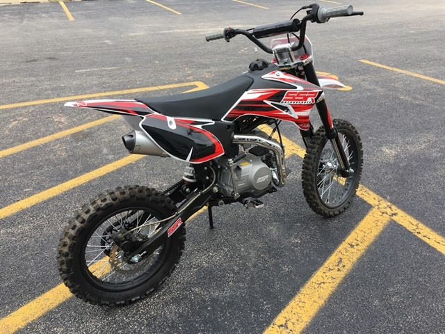 2019 SSR Motorsports SR125TR BIG WHEEL PIT BIKE at Randy's Cycle, Marengo, IL 60152