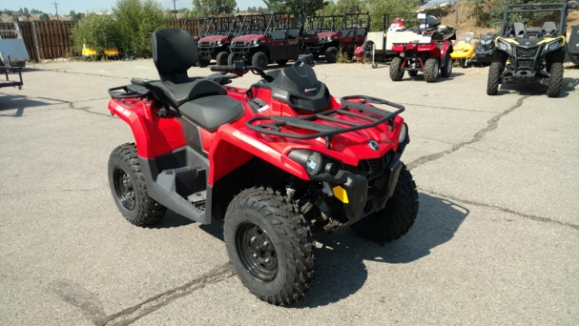 2017 Can-Am Outlander MAX 450 $132/month at Power World Sports, Granby, CO 80446