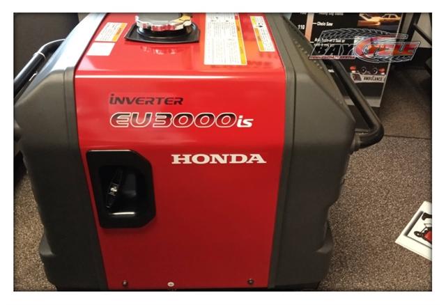 2021 Honda Generators EU3000iS at Bay Cycle Sales
