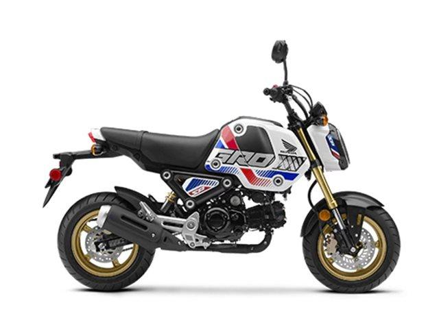2022 Honda GROM Pearl White at Friendly Powersports Baton Rouge