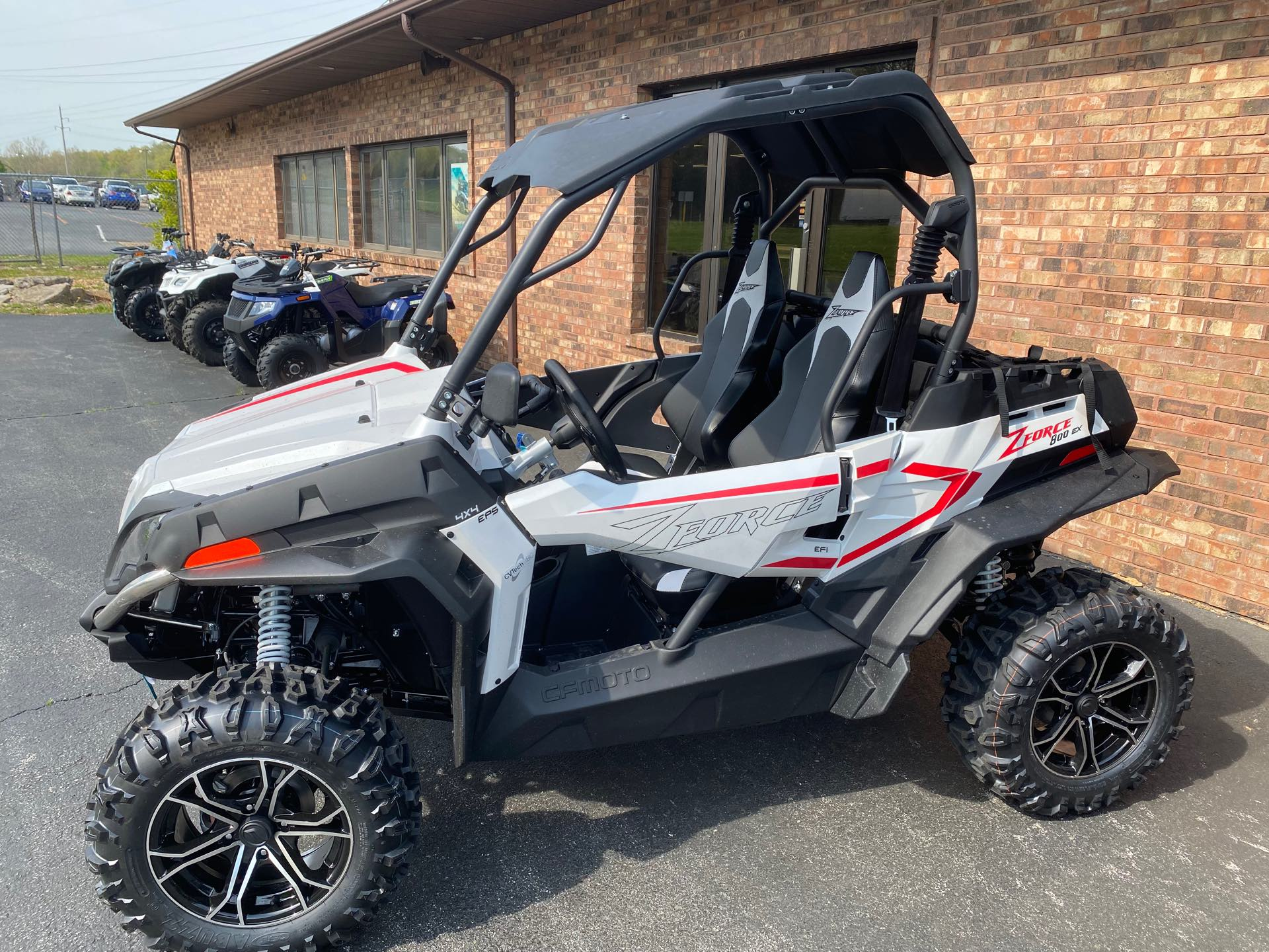 2021 CFMOTO ZFORCE 800 EX at Gold Star Outdoors