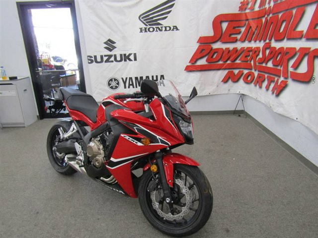 2018 Honda CBR650F Base at Seminole PowerSports North, Eustis, FL 32726