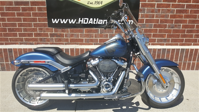 2018 Harley-Davidson Softail Fat Boy 114 at Harley-Davidson® of Atlanta, Lithia Springs, GA 30122