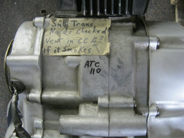 1981 Honda ATC110 Engine Exchange at Brenny's Motorcycle Clinic, Bettendorf, IA 52722