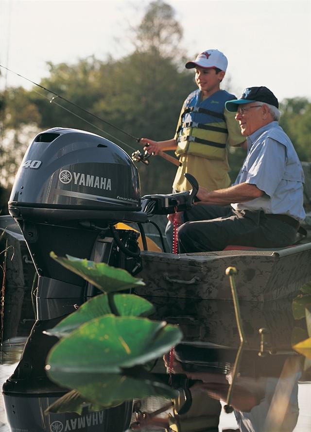 2017 Yamaha Outboard F40LEHA at Kodiak Powersports & Marine