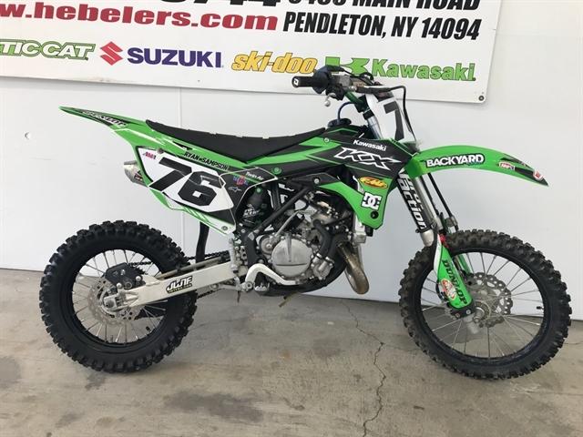 2017 Kawasaki KX 85 at Hebeler Sales & Service, Lockport, NY 14094