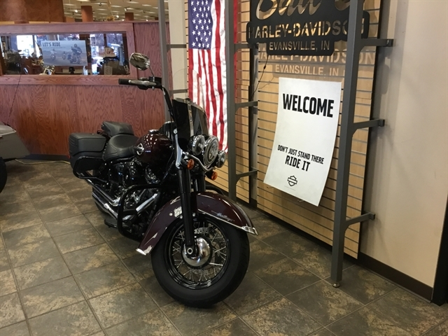2018 Harley-Davidson Softail Heritage Classic at Bud's Harley-Davidson