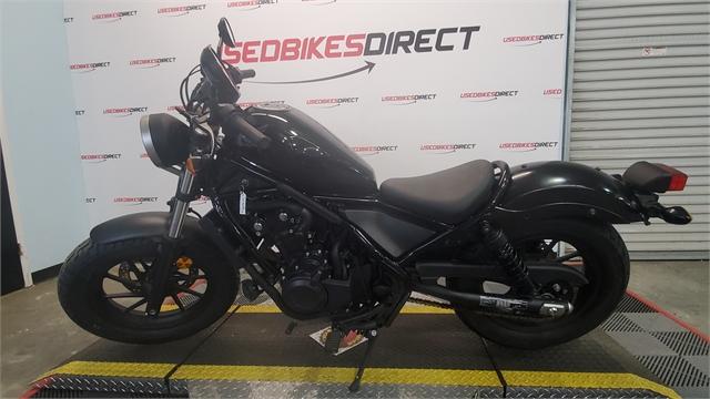 2018 Honda Rebel 500 at Used Bikes Direct