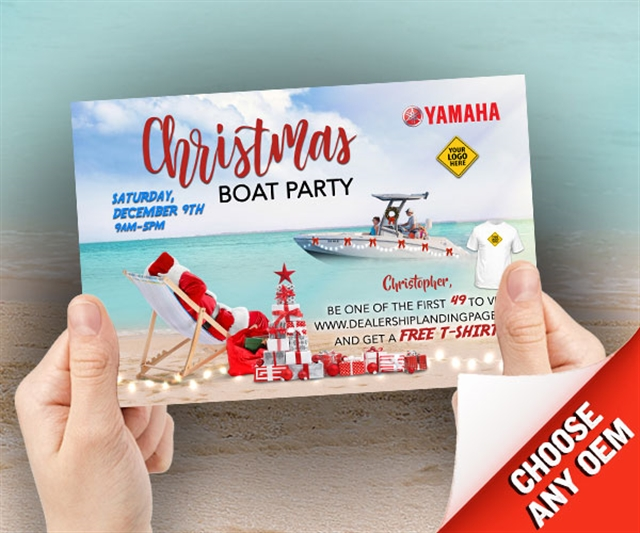 Christmas Boat Party Marine at PSM Marketing - Peachtree City, GA 30269