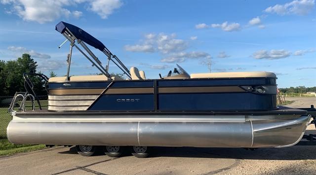 2020 Crest Classic Platunum 220 SLC - triple toon at Fort Fremont Marine Redesign