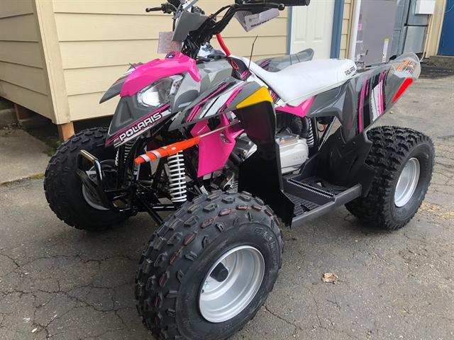 2020 Polaris Outlaw 110 EFI at Lynnwood Motoplex, Lynnwood, WA 98037
