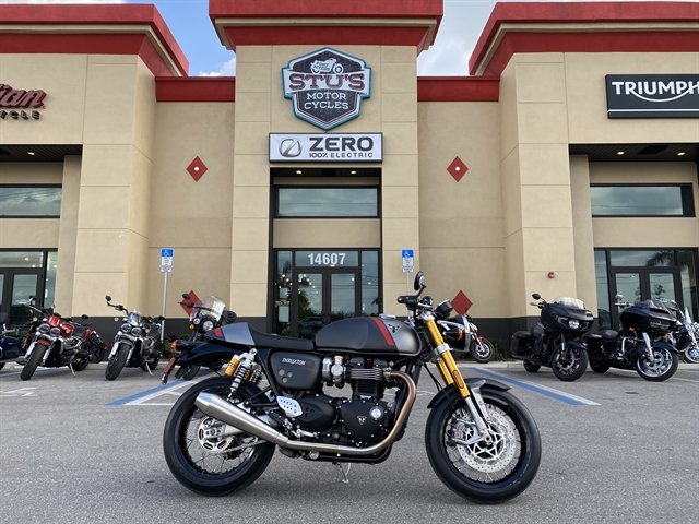 2020 Triumph Thruxton RS at Fort Myers