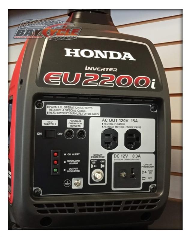 2021 Honda Generators EU2200i at Bay Cycle Sales