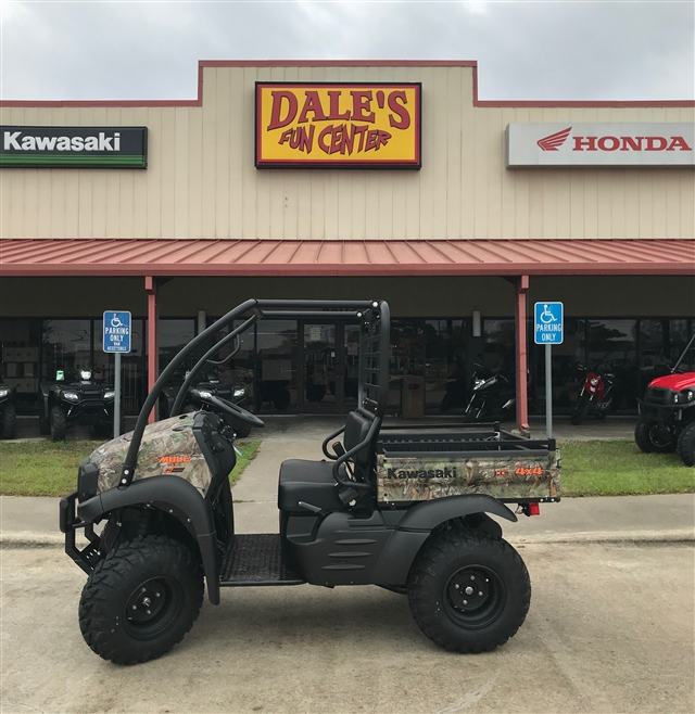 2019 Kawasaki Mule SX FI 4x4 XC Camo at Dale's Fun Center, Victoria, TX 77904