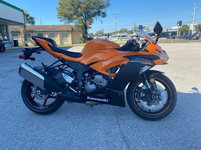 2020 Kawasaki Ninja ZX-6R ABS at Jacksonville Powersports, Jacksonville, FL 32225