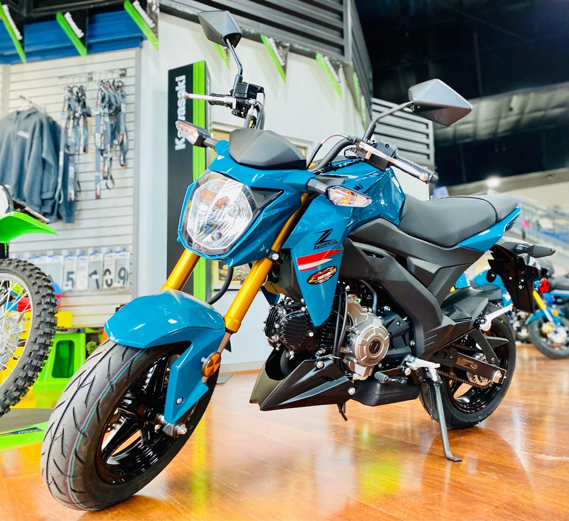 2021 Kawasaki Z125 PRO Base at Rod's Ride On Powersports