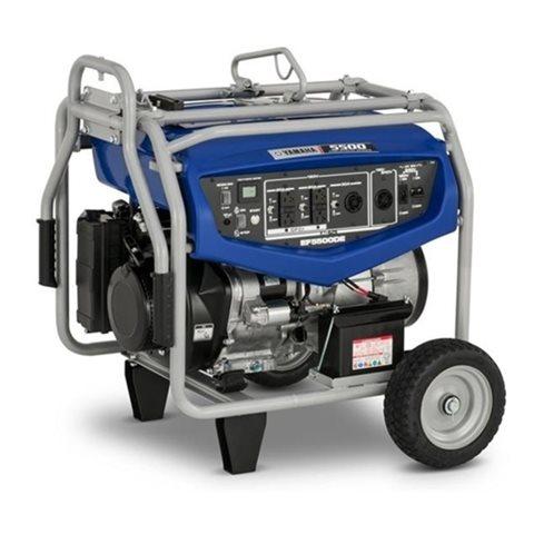 2018 Yamaha Power Portable Generator EF55DEX at Nishna Valley Cycle, Atlantic, IA 50022