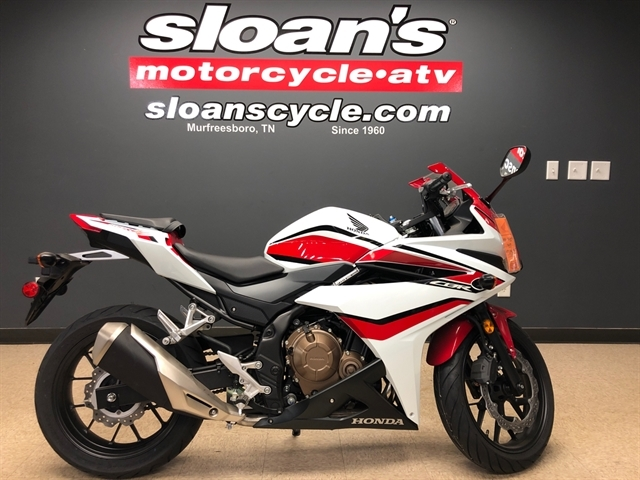 2018 Honda CBR500R Base at Sloans Motorcycle ATV, Murfreesboro, TN, 37129