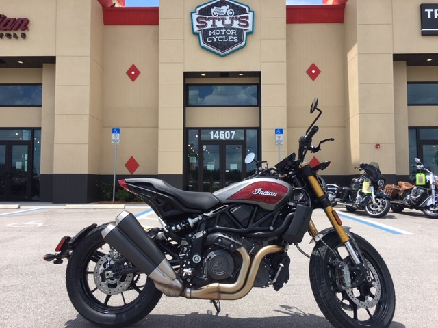 2019 Indian FTR 1200 S IMC RedSteel Gray 49st at Fort Myers