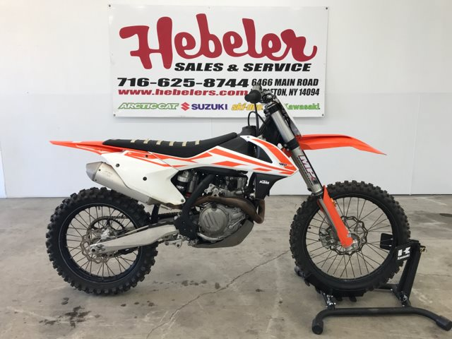 2017 KTM SX 450 F at Hebeler Sales & Service, Lockport, NY 14094