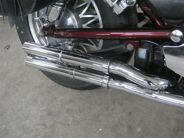 1986 Suzuki VS700 Intruder at Brenny's Motorcycle Clinic, Bettendorf, IA 52722
