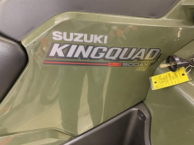 2020 Suzuki KingQuad 500 AXi Power Steering at Columbia Powersports Supercenter