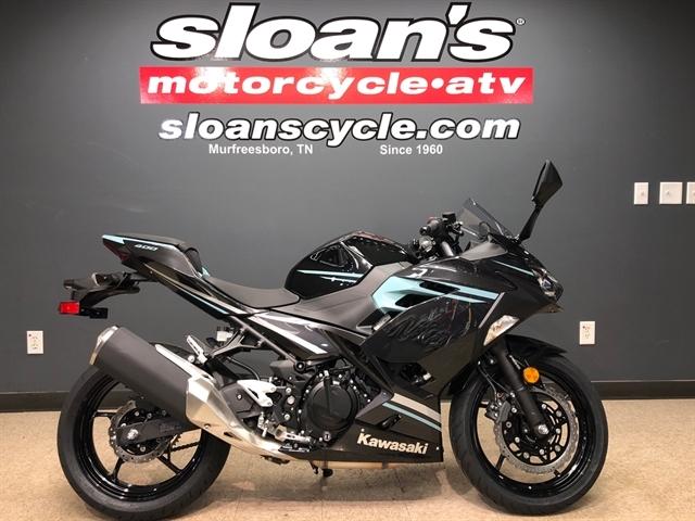 2020 Kawasaki NINJA 400 ABS EX400GLFB at Sloans Motorcycle ATV, Murfreesboro, TN, 37129