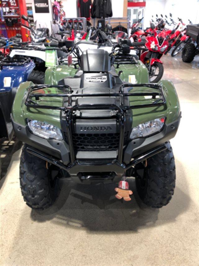 2019 Honda FourTrax Rancher 4X4 ES at Genthe Honda Powersports, Southgate, MI 48195