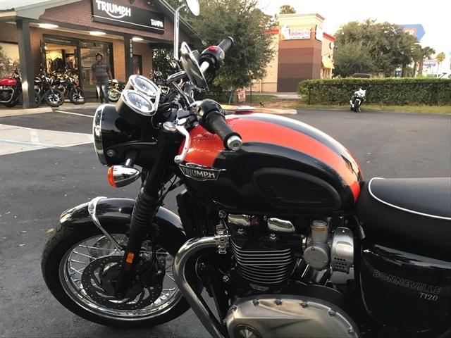 2020 Triumph Bonneville T120 Base at Tampa Triumph, Tampa, FL 33614